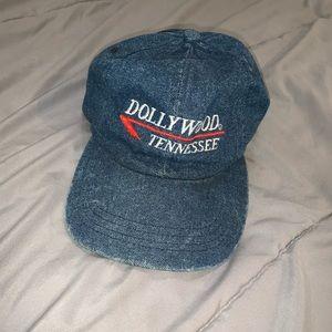 Vintage Dollywood Chambray Denim Dad Hat